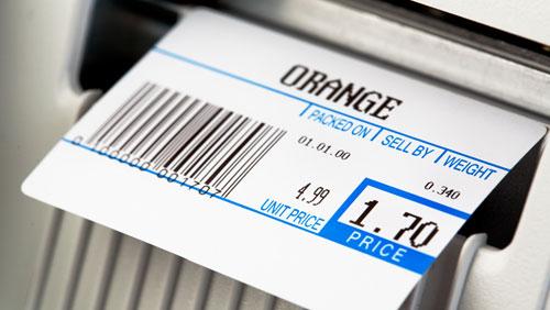Choosing thermal print labels